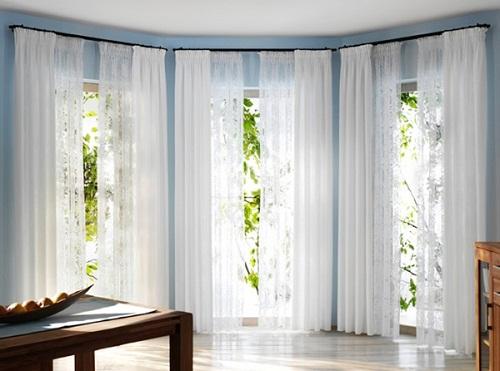 Chọn rèm cửa tô điểm cho ngôi nhà theo mùa
